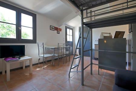 Studio 20m² piscine et bien etre - Blauzac - Apartmen