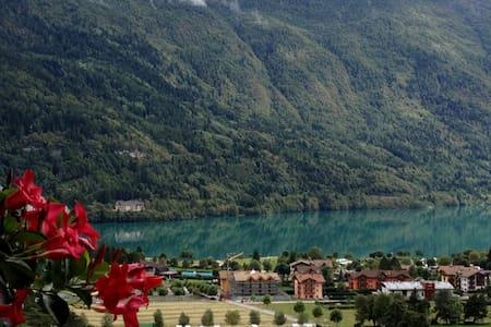 Trilocale con vista lago di Molveno - Lejlighed