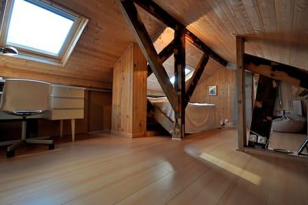 Chambre cosy dans combles (maison) - Talo