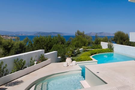 The Art Villa in Agios Aimilianos - House