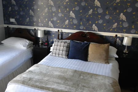 Quiet Ensuite Quad (sleeps up to 4) - Bed & Breakfast