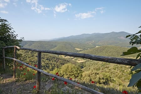 La Quercia - a nature retreat with endless views - Vetulonia - Cabin