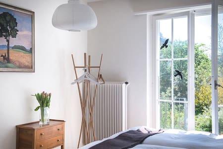 """Terrassenzimmer im """"au jardin"""" - Bed & Breakfast"""