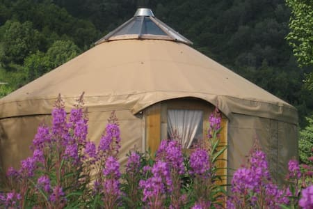Peaceful Alaskan Yurt in Homer - Jurta