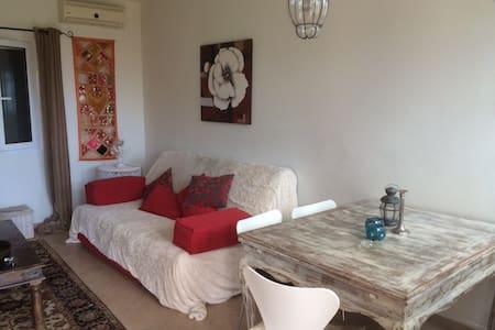 Luxury apartment with sea view - Nikiana