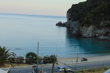 Sea View Studio for 2 p near beach - Palaiokastritsa - Daire