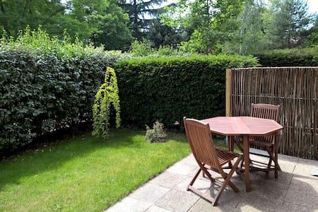 2 pièces + jardin à 20 mn de Paris - Verneuil-sur-Seine - Apartamento