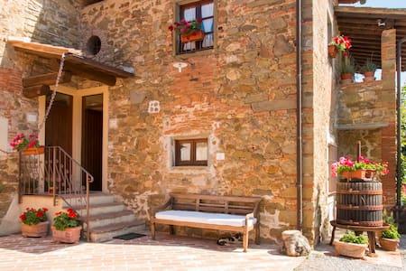 Casa Margherita Tuscan Farmhouse  - Apartamento