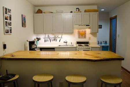 Carrboro Chapel Hill UNC Studio - Maison de ville