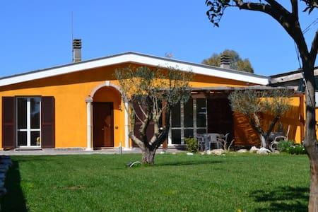 SinequaRoma  Matrimoniale in Villa - Acilia-Castel Fusano-Ostia Antica - Bed & Breakfast