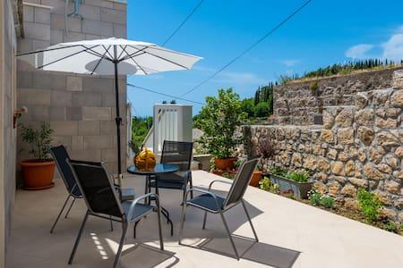 Villa Kabalero - Studio with Pool 1 - Gruda - Apartmen