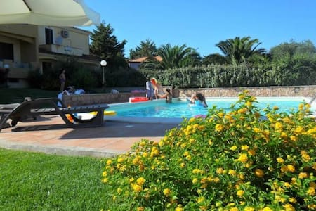 Flat - A - 2 Bedrooms - shared pool - Tergu