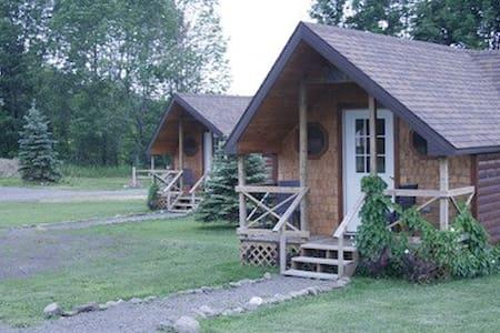 Hand Hewn Cedar Log Cabin