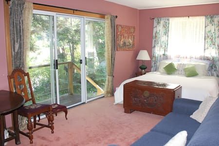 seaside room on organic farm - Salt Spring Island - Bed & Breakfast