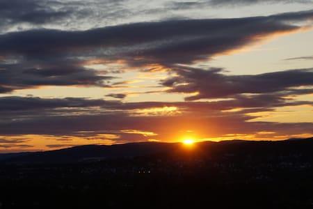 Wonderful view nearby Oslo - Blystadlia
