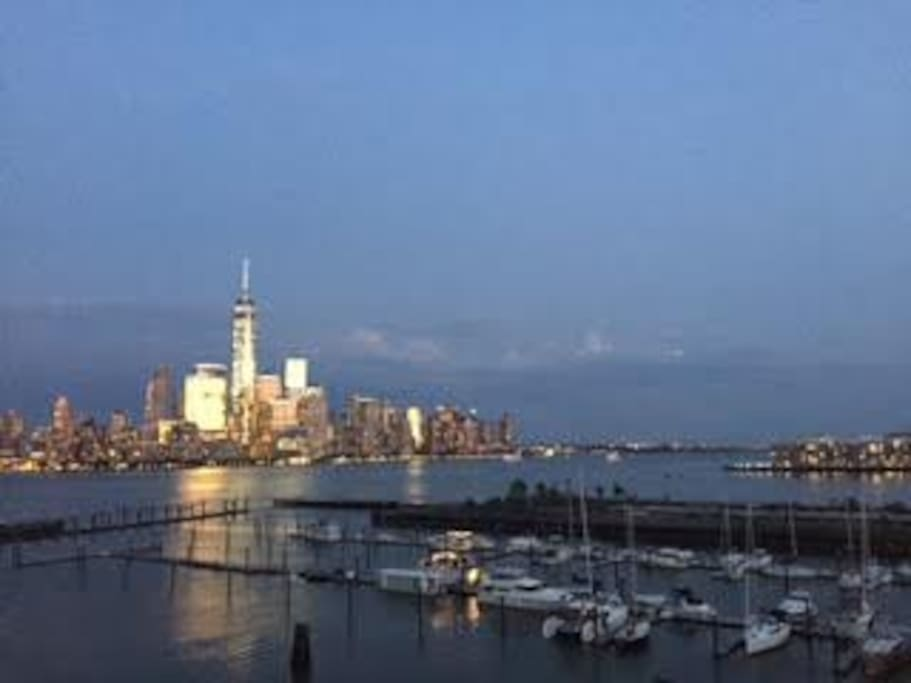 View from the Building Roof Deck