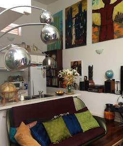 Amazingly-Cool Roomy Loft Apartment