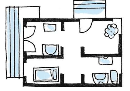 Zimmer im 12 Bezirk Wien - Lakás