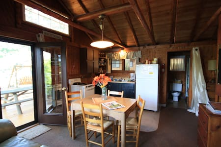 """""""Glamping"""" !!  Log Cabin, Every Window has a View - Traverse City - Chalet"""