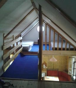 Sunny house in mysterious nature - Lendavske Gorice