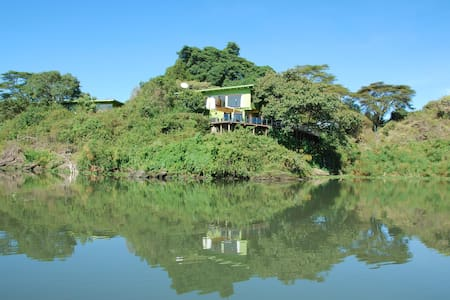 Ziwani Island, Lake Naivasha - Insel