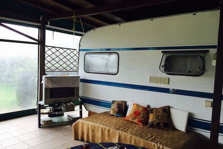 NK Private Camping 50m from the beach - Camper/RV