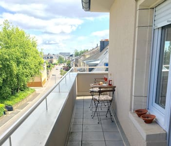 Charming Penthouse with big balcony, Limpertsberg - Appartement