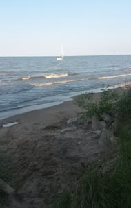 RNC beachfront rental - Cedar Point Road - Ház