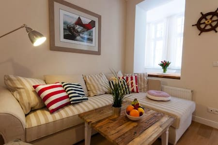 Central 1 bedroom apartment Gdynia Old Town - Appartamento