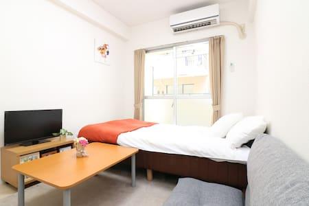 大阪心斋桥梅田2-4人公寓 - Lägenhet