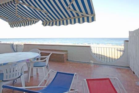 On the beach - Mari's house - WIFI - Giardini-Naxos - Condominium