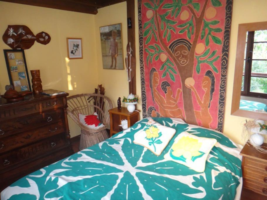One of the bedroom (Mahina) / une des chambre (Mahina) - suite