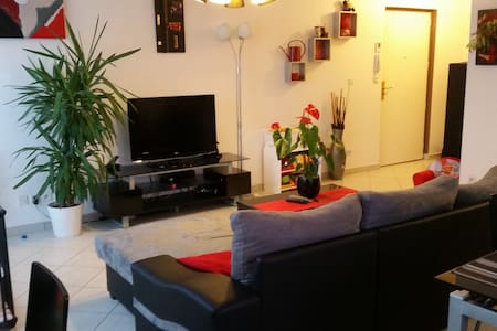 Joli appartement - 400 m du Stade de Lyon Parc OL - Meyzieu - Apartemen