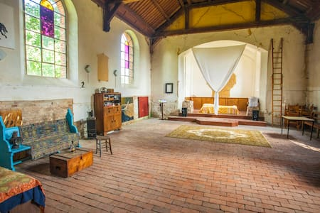 holiday in prussian village church - Loft