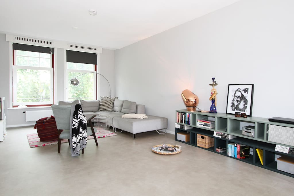 Sunny Design Apartment w/cosy feel
