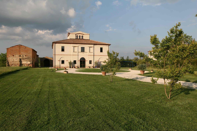 Ancient Leopoldina in Tuscany heart