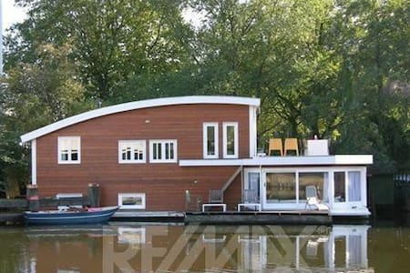 Big light Houseboat in Rdam; 130m2! - Hajó