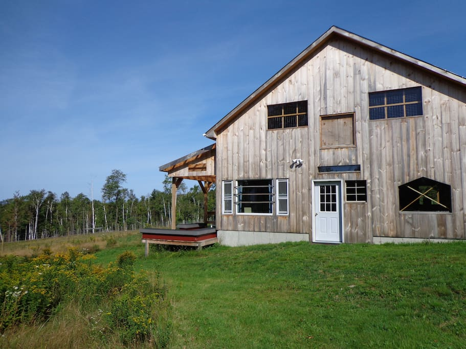 Spend a night in a Vermont barn!