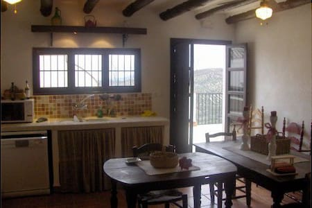 Andalusian paradise in the mountain - Casa