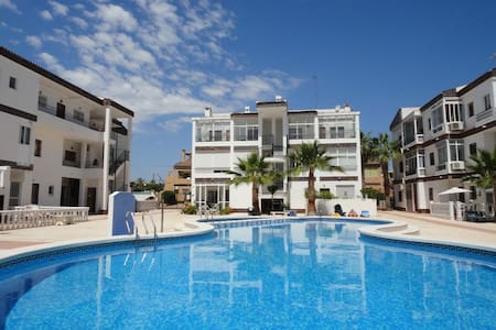 Cosy apartment 600m PuntaPrimabeach - Torrevieja - Wohnung