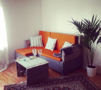 Central, spacious,modern & lakeview - Apartamento
