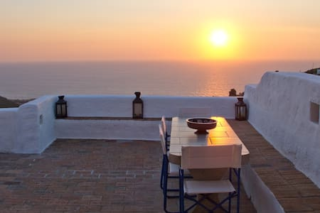 Luxury House with Breathtaking View - Patmos