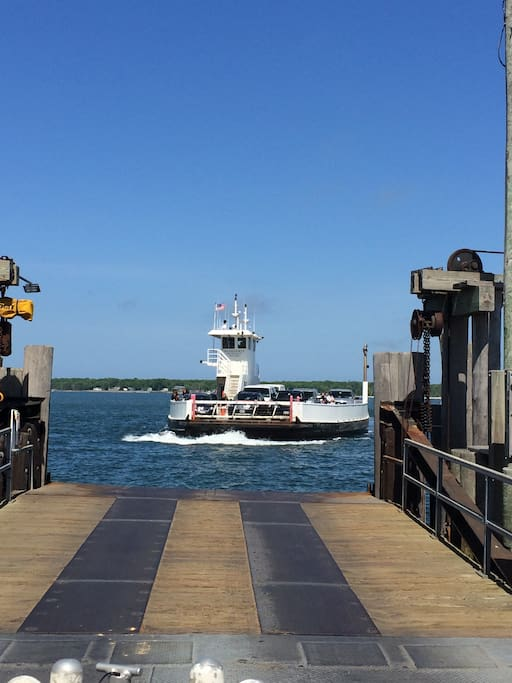 Ferry boat to Shelter Island