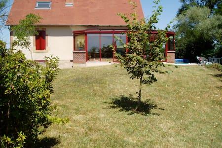 Gde maison de famille en Bourgogne - Lamenay-sur-Loire - Haus