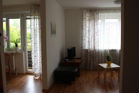 Helle, freundliche Wohnung 2-3 Pers - Daire
