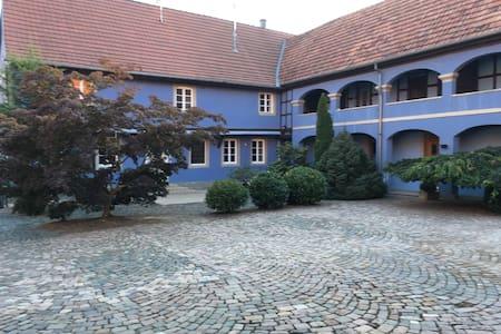 Dans corps de ferme spacieux duplex cosy de 125m2 - Mittelschaeffolsheim - Wohnung