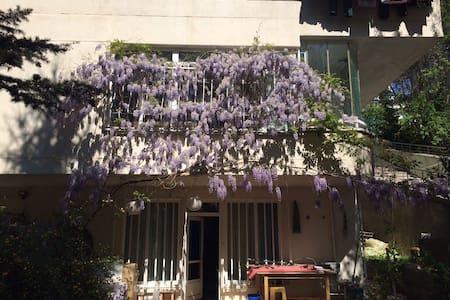 Walk to Tunalı, garden access and cats... ;) - Apartamento