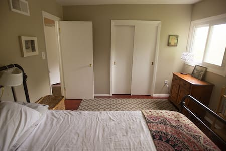 A bedroom in peaceful Crestwood