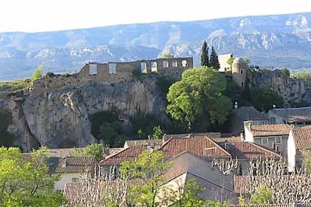 Maison de village en Provence - Rumah