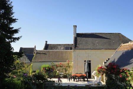 Maison de charme des bords de Loire - Rigny-Ussé - Rumah